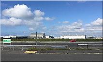 SY6874 : Industry, businesses, and HM Coastguard, Osprey Quay, Portland by Robin Stott