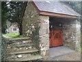 SN1121 : Entrance gate to Church of Saint Tysilio, Llandissilio by welshbabe