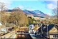 NN8765 : Blair Athol Railway Station by Adam Forsyth