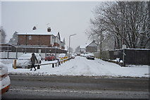 TQ5842 : Snow, St Andrew's Park Rd by N Chadwick