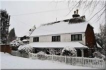 TQ5742 : Snow, Stuart House by N Chadwick