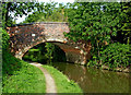SP4877 : Bridge No 50 north of Newbold on Avon, Warwickshire by Roger  Kidd