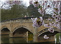 SK5805 : Bridge across the River Soar in Abbey Park by Mat Fascione