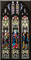 SE7804 : West window, St Andrew's church, Epworth by Julian P Guffogg