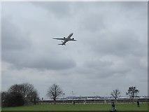 TQ0975 : A historic flight takes off by Marathon