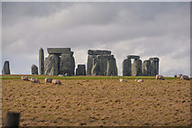 SU1242 : Wiltshire : Stonehenge by Lewis Clarke