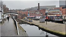 SP0686 : Gas Street Basin by Philip Halling