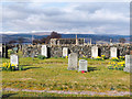 NM6043 : Pennygown Cemetery by Trevor Littlewood
