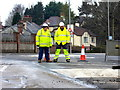 H4672 : Road works, Hospital Road, Omagh - 35 by Kenneth  Allen