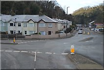 SX9165 : Roundabout in Teignmouth Road by N Chadwick
