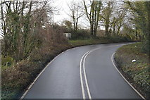 SX9269 : Bend, Teignmouth Rd by N Chadwick