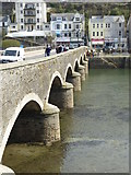 SX2553 : Looking across the bridge to East Looe by Rod Allday