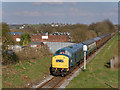 SD8110 : Diesel Train at Pimhole by David Dixon
