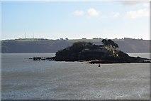 SX4652 : Drake's Island by N Chadwick