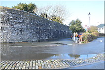 SX4653 : Dockyard Wall by N Chadwick