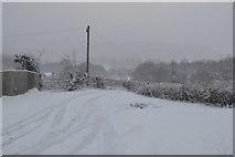 TQ5743 : Track to Nightingale Farm by N Chadwick