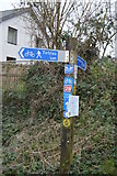 SX8059 : Signpost by N Chadwick