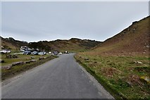 SS7049 : Valley of the Rocks: Car park by Michael Garlick