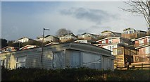 SX9371 : Static homes by Teignmouth Rd by N Chadwick