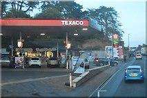 SX8861 : Texaco Filling Station, Torquay Rd by N Chadwick