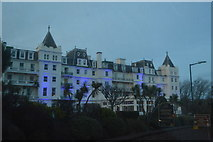 SX9063 : Lighting up The Grand Hotel by N Chadwick