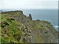 SW5843 : Cliff between Mutton Cove and Kynance Cove by Robin Webster