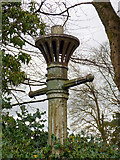 NS4371 : Old gas lamppost by Thomas Nugent