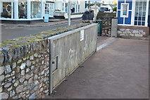 SX9372 : Flood gate, Shaldon by N Chadwick