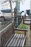 SX9372 : Village pump, Shaldon by N Chadwick