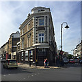 TQ3370 : Corner of Church Road and Westow Hill, Upper Norwood, southeast London by Robin Stott