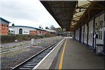SX8671 : Platform 1, Newton Abbot Station by N Chadwick