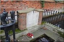 TQ2162 : War Memorial, Ewell Spring by N Chadwick