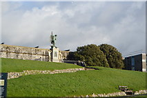 SX4753 : War Memorial, Western Bastion by N Chadwick