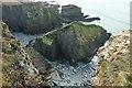 SX0382 : Rock near Crookmoyle Rock by Derek Harper