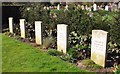 TG2008 : German Commonwealth war graves by Evelyn Simak