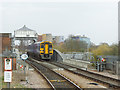 SE6132 : Selby station -  arrival from Hull by Stephen Craven