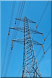 TQ5479 : Pylon over Purfleet, Essex by Julian Osley