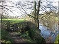 SK2280 : Footbridge near Mount Pleasant by John Slater