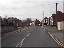 SE4824 : Doncaster Road - viewed from High Street by Betty Longbottom