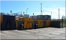 NO5403 : Pittenweem local authority recycling centre by Bill Kasman