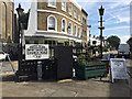 TQ3370 : Island at the junction of Belvedere Road and Church Road, Upper Norwood, London by Robin Stott