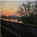 TL5479 : Ely: a Fenland sunrise by John Sutton