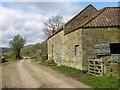 SE6598 : Farm buildings at Oak House : Week 16