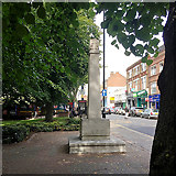 TQ3370 : Upper Norwood War Memorial, Westow Street, Upper Norwood, southeast London by Robin Stott