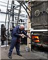 SU4924 : Feeding the beast - Twyford Pumping Station by Chris Allen