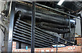SU4924 : Twyford Pumping Station - exposed boiler by Chris Allen
