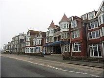 SW8162 : Hotel Bristol, Newquay by Roger Cornfoot