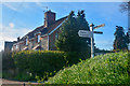 ST0904 : East Devon : Causeway End Cross by Lewis Clarke