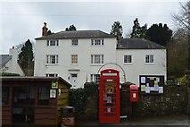 SX8157 : Ashprington Nursing Home and K6 box by N Chadwick