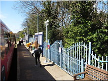 SW8132 : Falmouth Town railway station by Roger Cornfoot